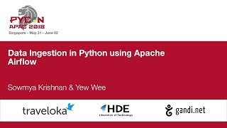 Data Ingestion in Python using Apache Airflow - PyCon APAC 2018