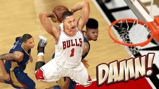NBA 2K14 Pelicans MyGM #20 - How Do You Stop A Running Bull?! :/