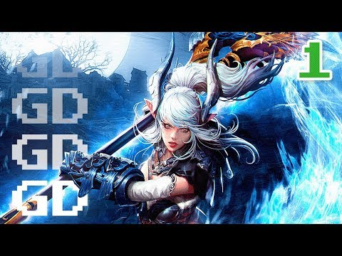 TERA Walkthrough Part 1 - Castanic Valkyrie - MMO Let's Play Gameplay