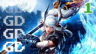 TERA Gameplay Part 1 - Castanic Valkyrie - Let