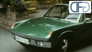 Porsche 914 (VW-Porsche) zur IAA 1969