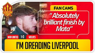 MATA SHOULD PLAY MORE! Manchester United 1-0 Wolves Fan Cam