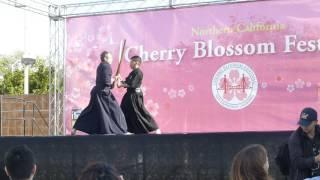 Suio Ryu Lai Kendo at Northern CA Cherry Blossum Festival 2017