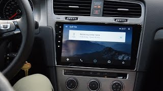 MK7 Golf Android Headunit Walkthrough