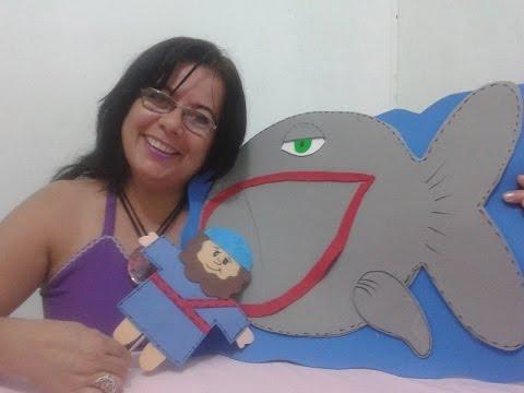 Peixe Que Engoliu Jonas Arte E Artesanato Youtube