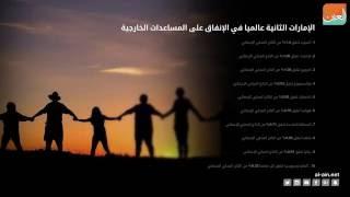 بالفيديو.. الإمارات الثانية عالميا في الإنفاق على المساعدات الخارجية