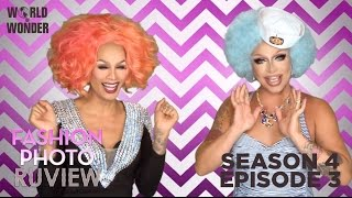 RuPaul's Drag Race Fashion Photo RuView with Raja and Raven: Season 4 Episode 3