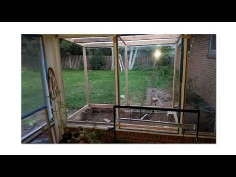 $100 Greenhouse! Wood construction with $20 drip irrigation hack and clear double-pane windows
