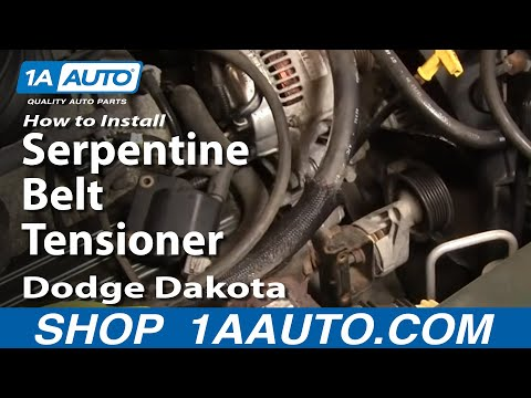 Hqdefault on 1993 Dodge Dakota Serpentine Belt