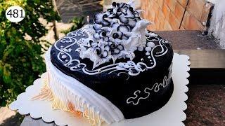 chocolate cake decorating bettercreme vanilla (481) Học Làm Bánh Kem Đơn Giản - Mứt Đen (481)