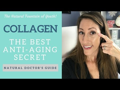 The #1 Natural Anti-Aging Beauty Secret- How to Stay Youthful & Young Looking with Collagen Protein