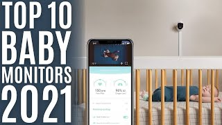 Top 10: Best Smart Baby Monitors of 2021 / Video Baby Monitor with Camera and Audio / Baby Camera
