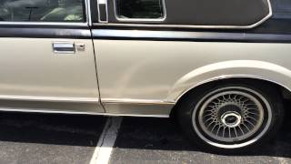 1980 Lincoln Continental Coupe