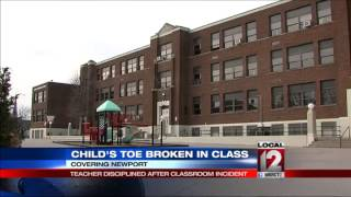 Newport Teacher Disciplined After Classroom Incident