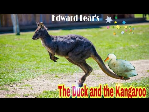 The Duck and the Kangaroo ( full poem) -P. J. Manilal