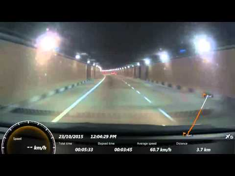 Sony Action Cam: SMART Tunnel 4x with GPS