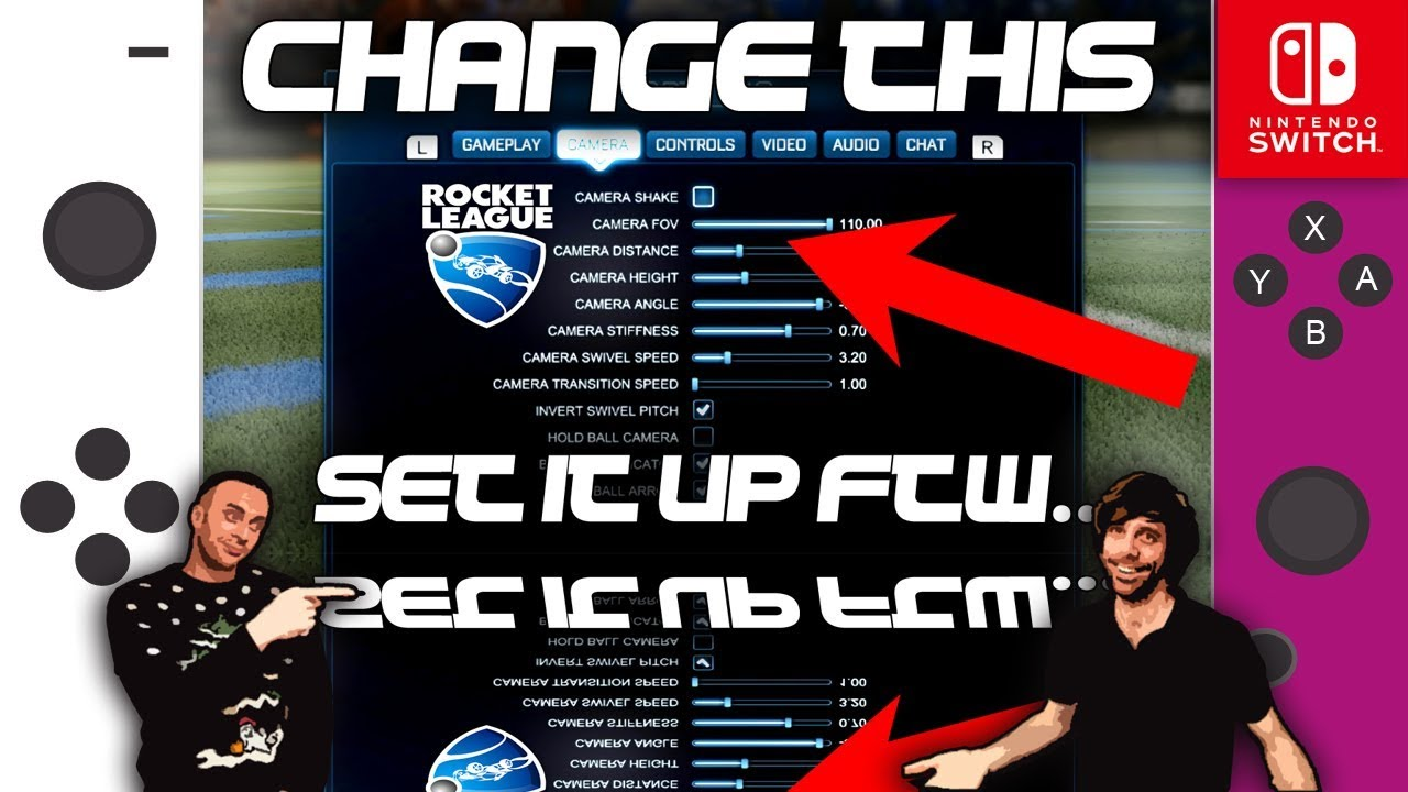 CHANGE YOUR DEADZONES! - Rocket League Switch Guide - Play Better!