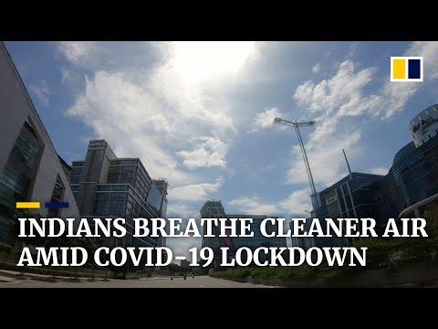 India's nationwide coronavirus lockdown is doing wonders for air quality