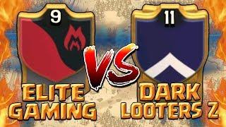 ELITE GAMING vs DARK LOOTERS Z - Clash of Clans War! Best TH10 & TH9 3 Star Attack Strategies 2017!