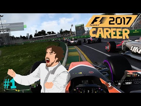 F1 2017 - Formula One Australian Grand Prix (Epic Battle With Alonso)