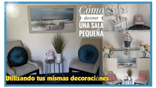 Como decorar tu sala/Utilizando tus mismas decorarciones/Ideas para decorar.