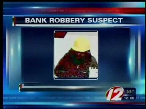 Cranston police search for bank robber