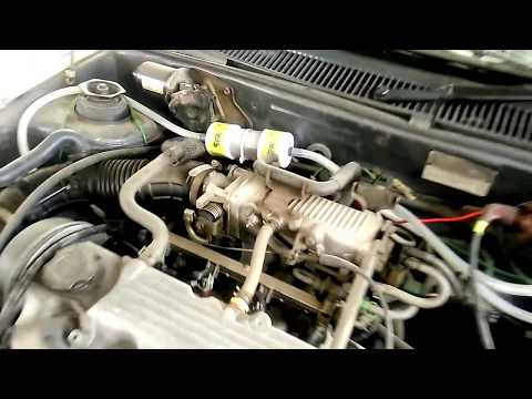 Esteem car running on green fuel HHO dry cell. 18 Plate 1.2 LMP