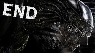 Aliens Colonial Marines - Ending / Queen Final Boss - Gameplay Walkthrough Part 10