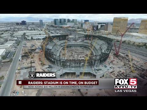 Las Vegas Stadium Stays On Schedule And Budget