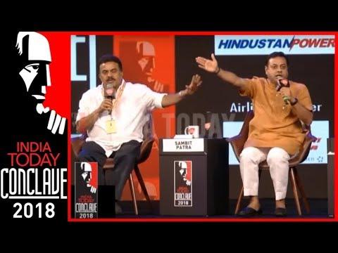 Sanjay Nirupam Vs Sambit Patra Heated Debate On Sri Sri's Syria Remark | India Today Conclave 2018