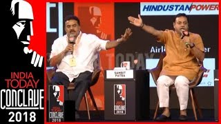 Sanjay Nirupam Vs Sambit Patra Heated Debate On Sri Sri's Syria Remark | India Today Conclave 2018