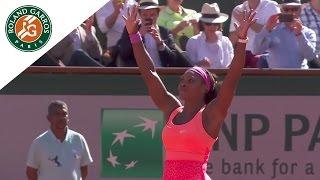 S. Williams v. L. Safarova 2015 French Open Women
