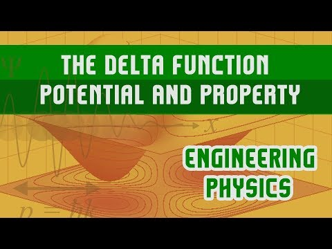 The Delta Function Potential | Property | Bound State Solution | Scattering State Function