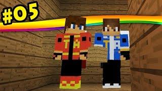 Minecraft Hardcore, Caverna! Ferro e Ouro!