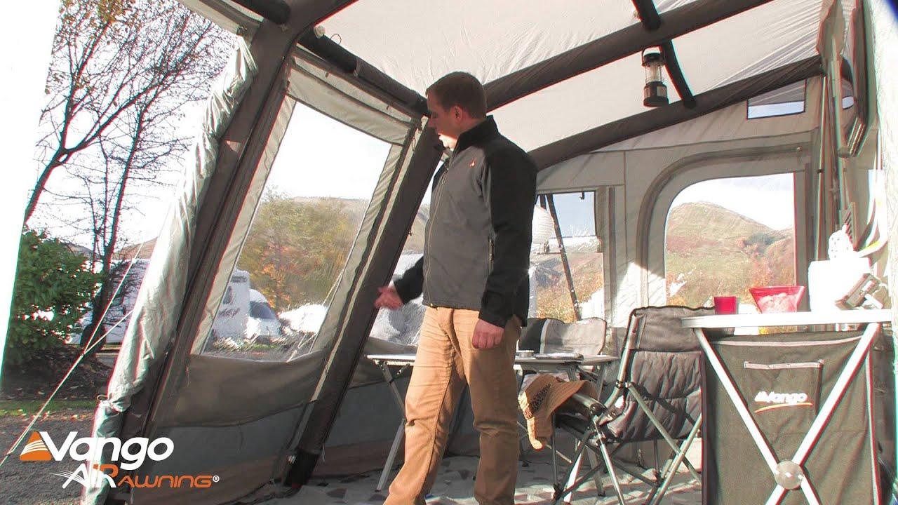 Vango Caravan Awning Varkala Airawning Filmed 2014 Youtube