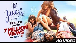 Dil junglee l official trailer taapsee pannu | dil juunglee | saqib salim | Bollywood movie 2018