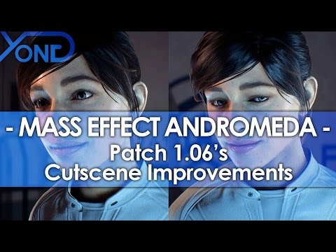 Mass Effect Andromeda Patch 1.06's Cutscene Improvements