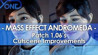 Mass Effect Andromeda Patch 1.06's Cutscene Improvements