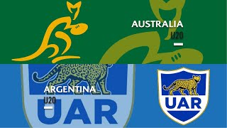 World Rugby U20s 2019 - Australia v Argentina - FULL MATCH
