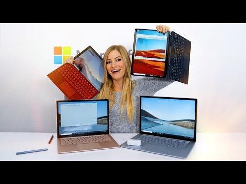 2019 Microsoft Surfaces
