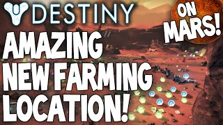 Destiny: Amazing NEW Mars Looting / Farming Area For Engrams & Glimmer - After Patch - Amazing Spot