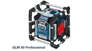 Обзор строительного радио от Bosch GML 50 Professional