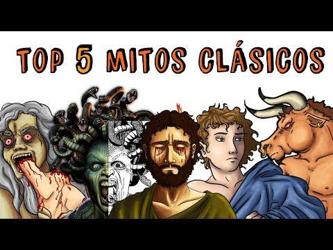 TOP 5 MITOS Y LEYENDAS CLÁSICAS CRONOS MINOTAURO PROMETEO MEDUSA  | Draw My Life