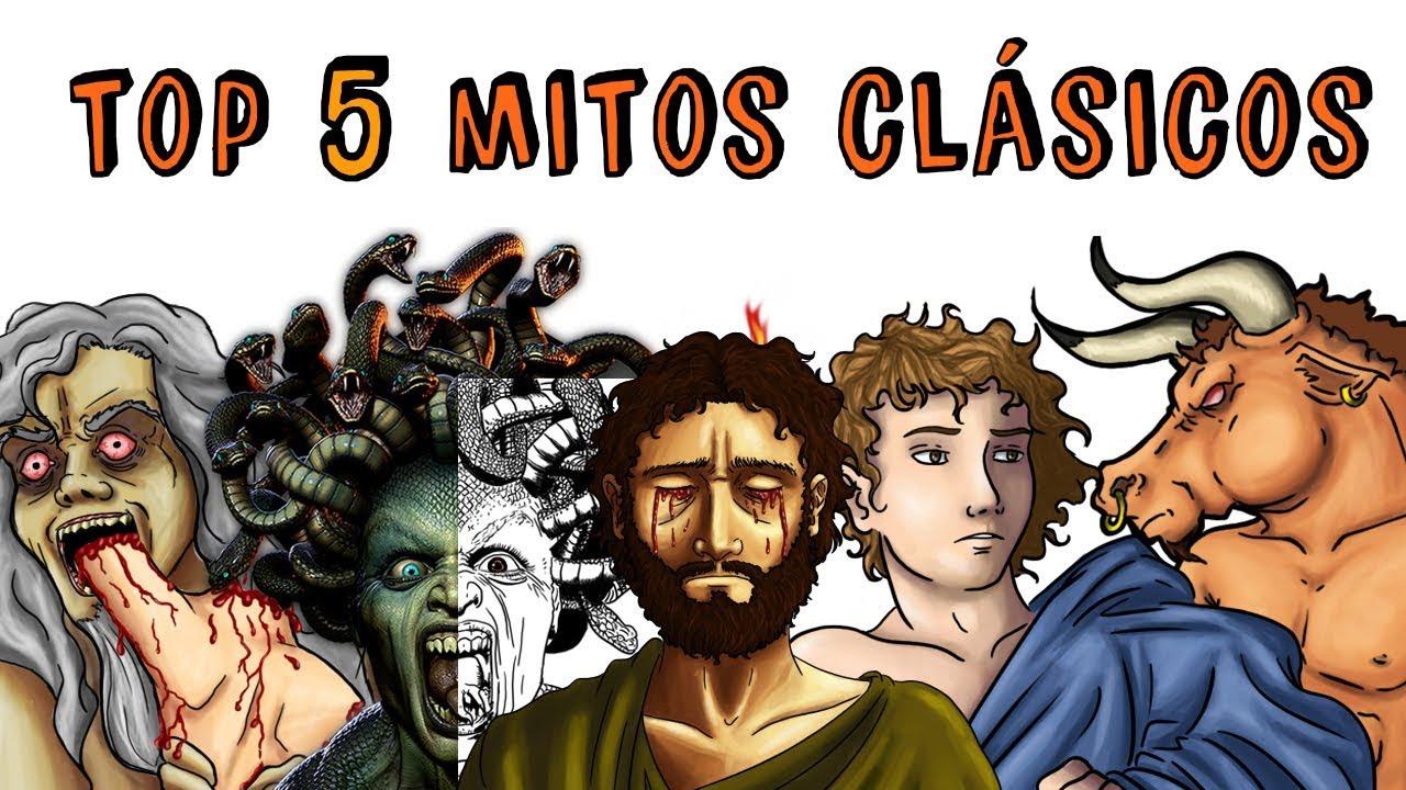 mitos mas conocidos de la mitologia griega
