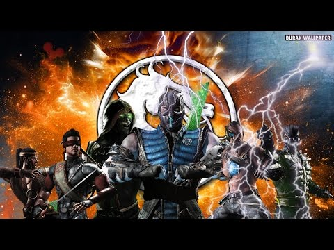 Mortal Kombat X SpeedArt Wallpaper Kolay Tasarım #6