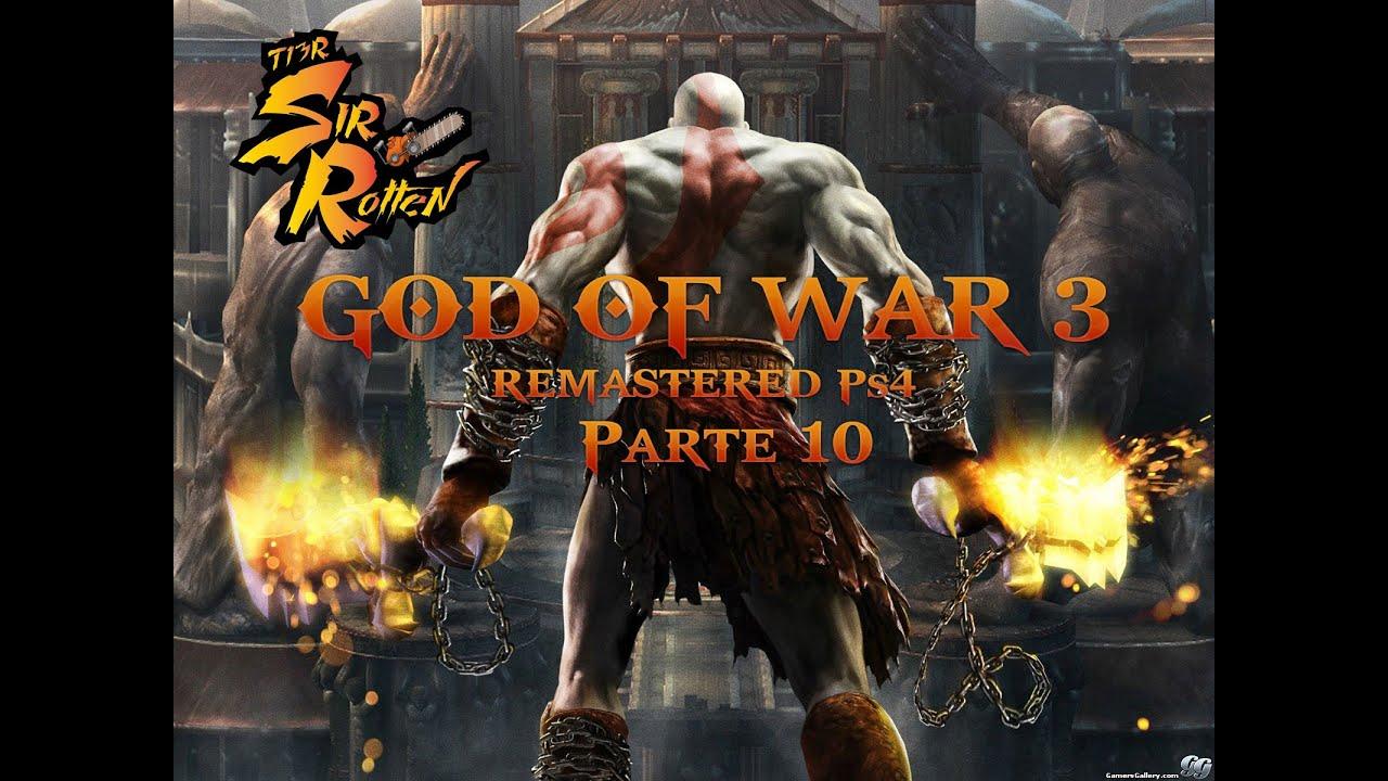 God of war 3 remastered episodio 10 jardin de hera for God of war 3 jardines superiores