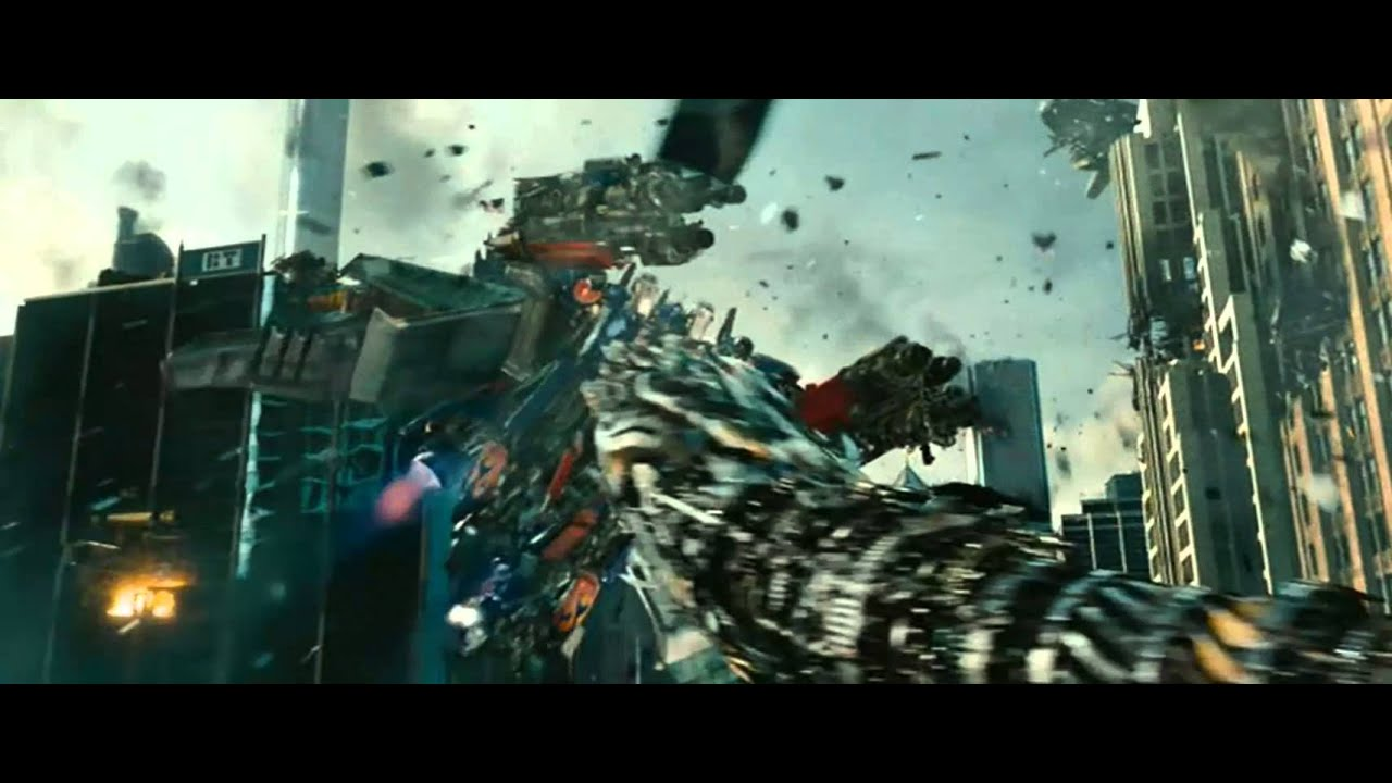 Transformers 3: Optimus Prime vs Driller - YouTube