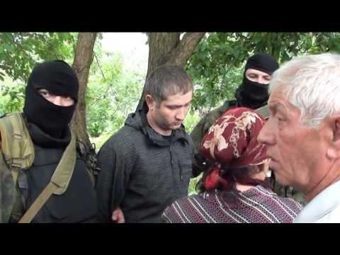 задержание пособника бандподполья в г. Баксан КБР 02.06.2013