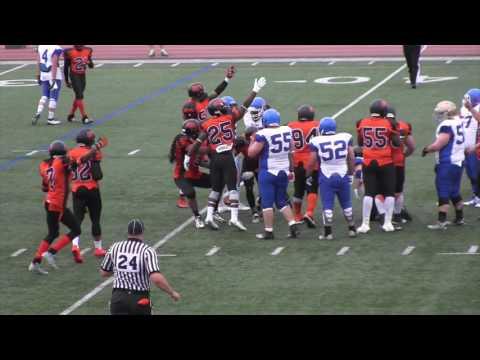 GTA All Stars  vs Ottawa Invaders  NFC Football