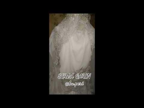 Sewa Gaun Syari Akhwat By At Buperi Untuk Akad Nikah Atau Walimatul Ursy